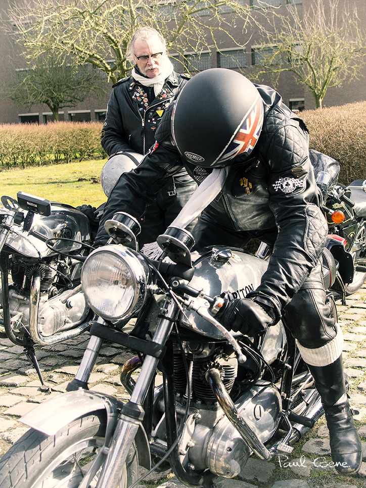 Café Racer Treffen Ninove 2018-09R