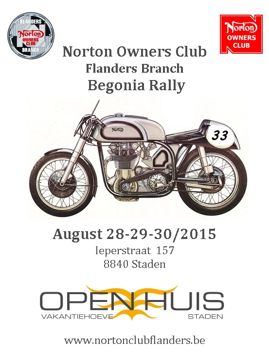 Begonia Rally 2015
